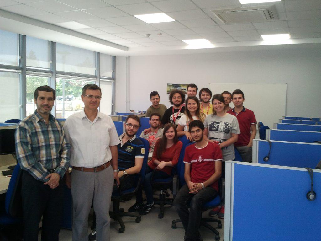 اتاق اختصاصی شرکت خودروسازی در دانشکده مهندسی کامپیوتر دانشگاه ساکاریا