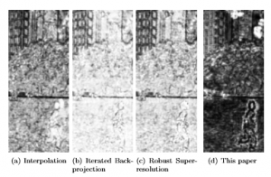 Video Enhancement through Image Registration based on Structural Similarity